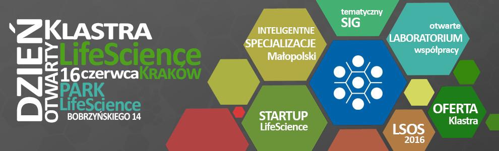 Dzień otwarty Klastra LifeScience Kraków   16.06.2016