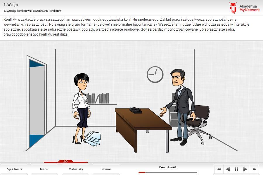Zarządzanie konfliktem - szkolenie dla managerów
