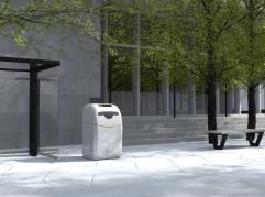 Inteligentny kosz na śmieci z Poznania zachwyca Start-Upowe sceny