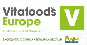 #VitaFoods Europe 2021